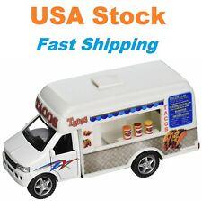 "Taco Truck, Kinsfun, Diecast Model Toy Car, 5"""