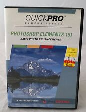 QuickPro Instructional CD Rom: Photoshop Elements 101
