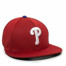 Philadelphia Phillies Home Baseball Hat Flat Bill Stretch Fitted Cap