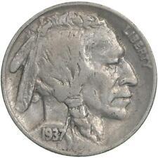 1937 D Buffalo Nickel Fine FN