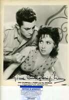 Gina Lollobrigida Psa Dna Coa Signed 8x10 Vintage Photo Autograph
