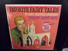 Danny Kaye Famous Fairy Tales Hans Christian Andersen LP Golden 1962 VG+
