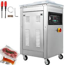 DZ-400T Automatic Vacuum Packing Sealing Sealer Machine 750W Chamber Kitchen