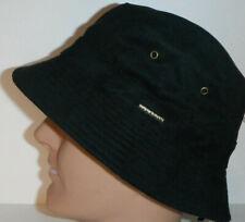 STETSON polyester Suede BUCKET HAT black medium