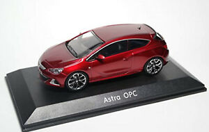 1:43 Model Vauxhall Astra OPC Opel 2.0 Coupe GTC Red VXR 2012 Diecast Car Mk6