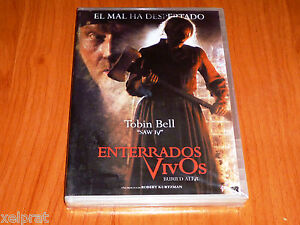 ENTERRADOS VIVOS / BURIED ALIVE  Robert Kurtzman 2007 Precintada English/Español