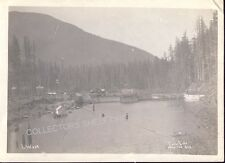 CEDAR LAKE WASHINGTON DAM SITE WATER SUPPLY FOR SEATTLE 1930 Photo CHESTER MORSE