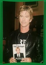 DUFF MCKAGAN SIGNED BOOK HOW TO BE A MAN + PHOTO PROOF & BAS COA - GUNS N ROSES