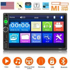 2 din radio car Stereo bluetooth touch screen MP5 player mirror link USB AUX FM