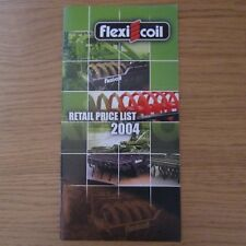 Flexi-coil ARATRO Packer Roller Coltivatore solco PRESS Brochure listino prezzi 2004