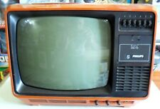 TELEVISIONE TELEVISORE VINTAGE TX PHILIPS  70s
