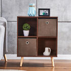 Industrial+TV+Stand+End+Table+Bedside+Cabinet+W%2F+Storage+Box+Home+Furniture+New