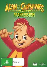 Alvin And The Chipmunks Meet Frankenstein - Big Face DVD R4