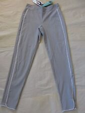 NWT $44 Hue Women Piped Polished Twill Skimmer Leggings Sz M Coin U16650