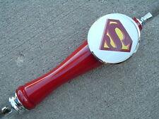 Superman Beer Tap Handle tapper Kegerator or Faucet