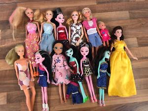 Barbie Steffi Love Mixed Fashion Vintage Doll Princess Belle Singing Bundle