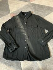 Ladies Noisy May Denim Look Shirt, Great Condition - Large