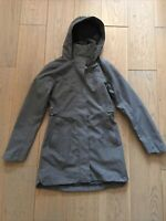 Womens The North Face Laney II Trench Raincoat Size XS Gray