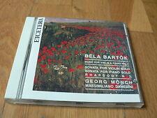 Georg Monch - Bartok : Music for violin & piano vol. 2 - Damerini - CD Etcetera