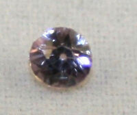NATURAL WHITE SAPPHIRE LOOSE GEMSTONE 3MM FACETED ROUND 0.1CT GEM SA20Ja