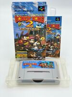 Super Donkey Kong 2 BOXED Super Famicom JAPANESE VERSION  SFC ref 090321