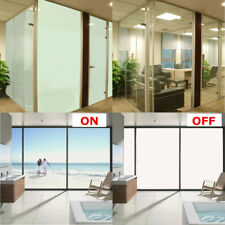 Smart Window Glass Film Switchable Privacy PET Sample Sticker with Controller