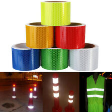 Reflective Safety Warning Tape Bicycle Sticker Adhesive Caution Tape 3M x 5cm