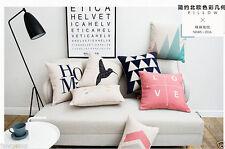 Art Deco Fashion Square Decorative Cushions & Pillows