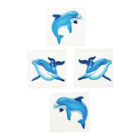 Tattoos Kids Temporary Tattoo Dolphin Party Favours Dolphins Pk of 36 Free Post