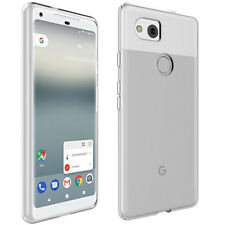 Clear Slim TPU Case Scratch-Resistant Silicone Skin Cover For Google Pixel 2 XL