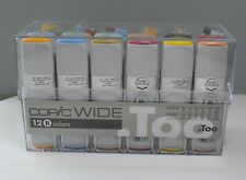 Copic WIDE MARKERS & VARIOUS REFILL INKS - SET 12B - 24 Piece **SALE rrp £199**