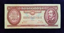 Banknote - 100 Forint - 1962 - Budapest - Ungarn