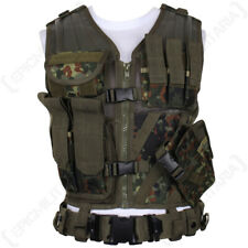 Flecktarn USMC Tactical Vest with Belt - Flecktarn Camo