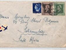 CE89 AVIATION Netherlands 1942 South Africa WW2 Air Mail {samwells-covers}