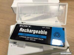 Original SONY Battery Akku LIP-4WM für Minidisc MZ-NH1 und MZ-RH1, 175642531 NEU