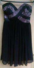 LIPSY Abendkleid Korsage Spitze Lace schwarz NEU 36 apart Hochzeit Taufe