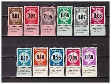 s30050) ISRAEL MNH** 1960 Definitives 11v