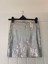 BNWT H&M Sequin Glitter Disco Skirt 8