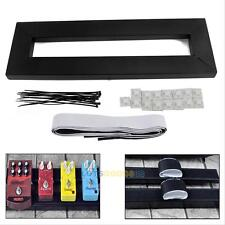 Electric Guitar Pedal Boards Effects Pedal Board Cases + Adhesive Tape 40 x 13cm