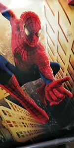 Stan Lee Signed Spiderman GIANT Poster 48x72 - vinyl - Global Authentics