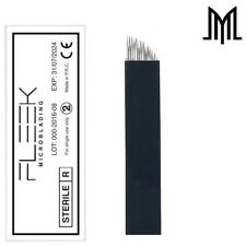 FLEEK Microblading BLACK Flexible Needles SPMU Permanent Makeup Eyebrow Blade CF