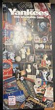 1996 New York Yankees MLB Baseball Information Media Guide OFFICIAL PUBLICATION