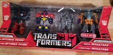 Transformers Legends Target Exclusive Movie Cybertron Optimus Prime Megatron Set