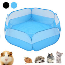 Small Folding Pet Dog 6 Panel Garden Guinea Pig Hamster Metal Fence Cage