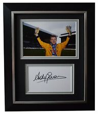Andy Goram Signed 10x8 Framed Autograph Photo Display Rangers AFTAL COA