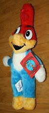 W Tag VINTAGE ACE WOODY WOODPECKER PLUSH DOLL 1985 WALTER LANTZ CHARACTER TOY
