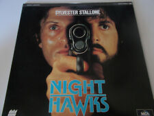 Digital Laser Disc NIGHT HAWKS Extended Play with Sylvester Stallone