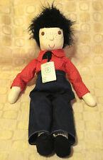 Vintage Handmade Cloth Soft Sculpture Doll Ozark Mountains Arkansas Brand New