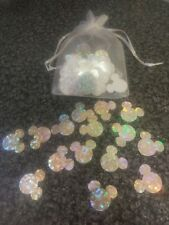 100 Mickey Mouse Holographic Card Table Wedding/Birthday Party Confetti