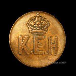 'KEH' King Edward's Horse Uniform Button